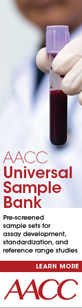 AACC's Universal Sample Bank Click to learn more