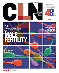 CLN January February 2019 cover male fertility testing